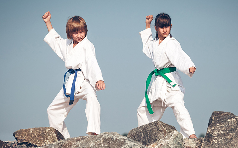 Karate Kids Kinder